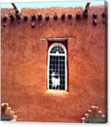 Adobe Wall With Window Canvas Print