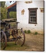 Adobe Window Canvas Print