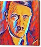 Adolf Hitler, Leaders Of Wwii Series.  Canvas Print