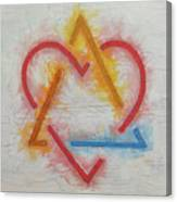 Adoption Symbol Canvas Print