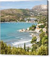 Adriatic Coast In Croatia Canvas Print