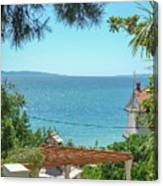 Adriatic Coast Sea View Canvas Print