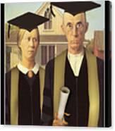 Adult Graduates Canvas Print