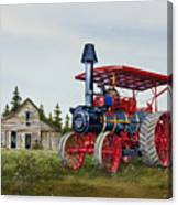 Advance Rumely Steam Traction Engine Canvas Print