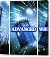 Advanced Whovians Alt Canvas Print