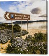 Adventure Bay Lookout Canvas Print