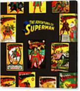 Adventures Of Superman Canvas Print