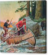 Adventures On The Nipigon Canvas Print