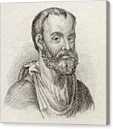 Aelius Galenus Or Claudius Galenus Canvas Print