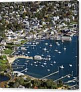 Aerial Edgartown Canvas Print
