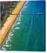 Aerial Over Deerfield Beach Canvas Print