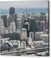 Aerial San Francisco Canvas Print