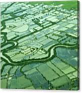 Aerial Shot Canvas Print