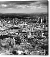 Aerial View Of London 6 Canvas Print
