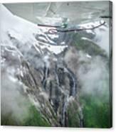 Aerial Waterfall Canvas Print