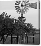 Aermotor Windmill San Joaquin County Ca Canvas Print