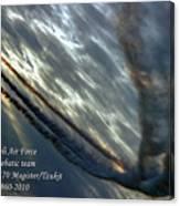 Aerobatic Team Canvas Print