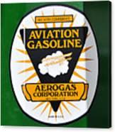 Aerogas Green Pump Canvas Print