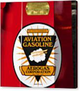Aerogas Red Pump Canvas Print