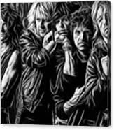 Aerosmith Collection Canvas Print