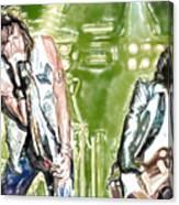 Aerosmith Watercolor Canvas Print