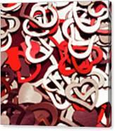Affection Reflection Canvas Print