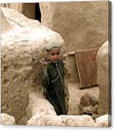 Afghan Child Canvas Print