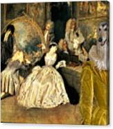 Afghan Hound-at The Artdealer's Shop Canvas Fine Art Print Canvas Print