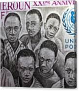 Africa Unicef Canvas Print