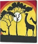 Africa#1 Canvas Print