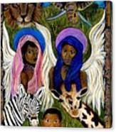 African Angels Canvas Print