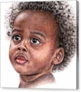 African Child Canvas Print