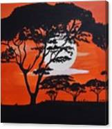 African Heat Canvas Print