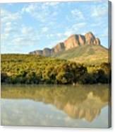African Landscape Canvas Print