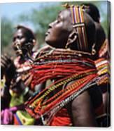 African Rhythm Canvas Print