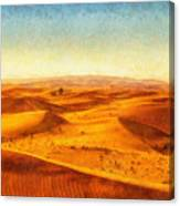 African sand dune art painting sand dunes painting by wall art african sand dune art painting sand dunes canvas print sciox Image collections