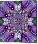 African Violet Wave Canvas Print