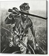 African Warrior Canvas Print