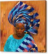 African Woman 5 Canvas Print