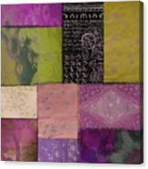 Afrikan Batik II Canvas Print