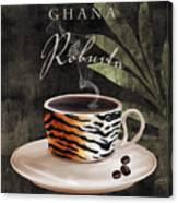 Afrikan Coffees II Canvas Print