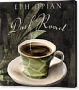 Afrikan Coffees Iv Canvas Print