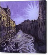 After Rio Dei Mendicanti Looking South Canvas Print