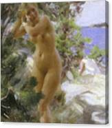 After The Bath, 1895 Canvas Print