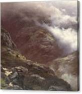 After The Massacre Of Glencoe  Canvas Print