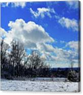 After The Snow Storm Canvas Print