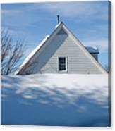 After The Snowfall Canvas Print