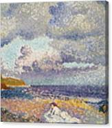 After The Storm The Bather Canvas Print