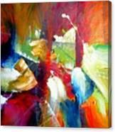 After Winning Sensation Canvas Print