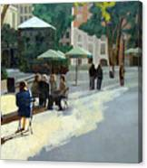 Afternoon In Bryant Park Canvas Print